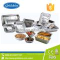 Envase de comida de aluminio disponible de la calidad de SGS
