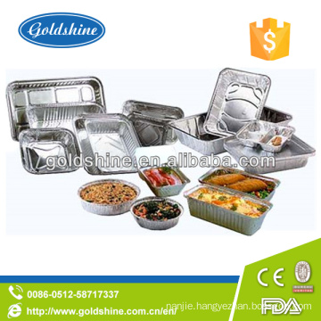 Disposable Household Aluminum Foil Tray with Lid
