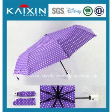 Cutomized Water Repellent Folding Sun Regenschirm