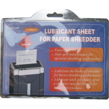 oil bag for paper shredder
