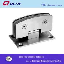 Braçadeira de porta de vidro de aço inoxidável OEM de alta qualidade 304 peças de precisão