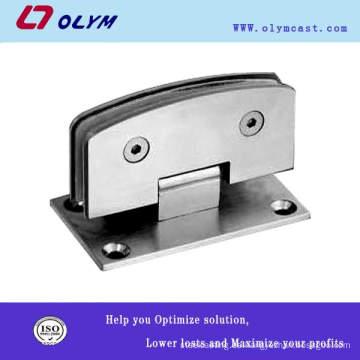 Alta calidad OEM acero inoxidable puerta de vidrio abrazadera 304 piezas de precisión