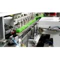 Máquina automática de impressão de almofadas para caixa de plástico