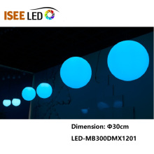3D 400mm DMX Led RGB 공 빛