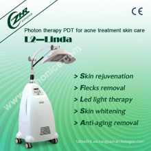 L2-Linda 8 colores PDT láser Photon Dynamic Skin Rejuvenation Equipment