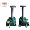 Manual screw jack lift for sale with glass shaft