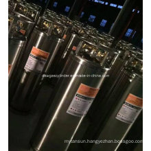 China 175L Liquid Oxygen Cryogenic Cylinder