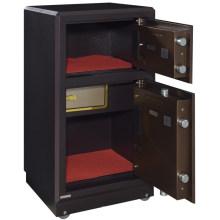 Accueil meubles en métal deux portes numérique coffre-fort