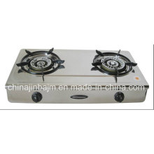 2 Burner Stainless Steel 710mm Gas Cooker