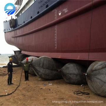 Bootspontons Marine-Airbag für das Starten von Schiffen