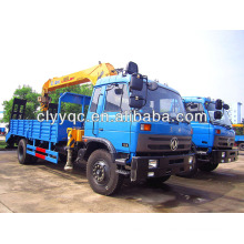 Crane 5 Ton,Dongfeng Truck Mounted Crane , truck loader crane For Sale