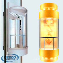 Import Residential Local Commercial Elderly Glass Capsule Low Cost Elevator