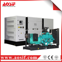 570kw / 713kva generator set genset price with cummins KTA38-G1