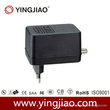 15W AC DC CATV Adapter with CE