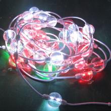 50mm String 3D DMX Led Pixel Ball Light For NightCulb