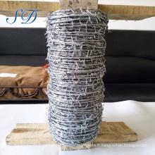 Poids de fil barbelé par mètre Utilisation de fil barbelé