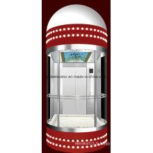 Ascenseur panoramique avec certificat Ce (JQ-A048)