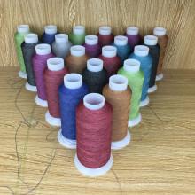 fil de broderie réfléchissant imperméable coloré pour l'habillement