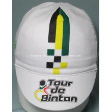 Sombreros de ciclismo de algodón impresos promocionales para deportes