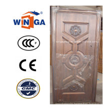 Turkey Popular Outside Security Metal Copper Door (W-ST-07)