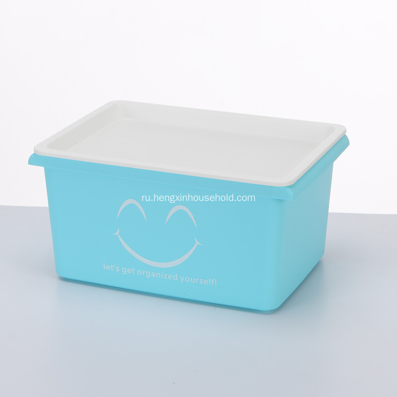 Plastic Tote Bins from Storage Boxes With Smile -Small Size
