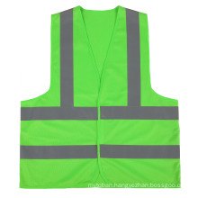 Hi-Visibility Green Safety Vest Custom Reflective Vests