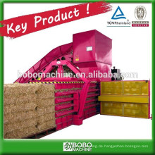 Automatische horizontale hydraulische Heu-Ballenpresse