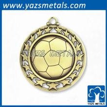 Medalhas de futebol desportivas personalizadas