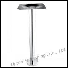Pied de table à manger en acier inoxydable fixe robuste (SP-STL116)
