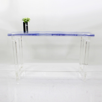 2018 Hot sale acrylic dining table for wedding