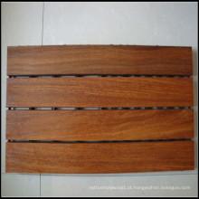 Telhas de decks de madeira ao ar livre Cumaru