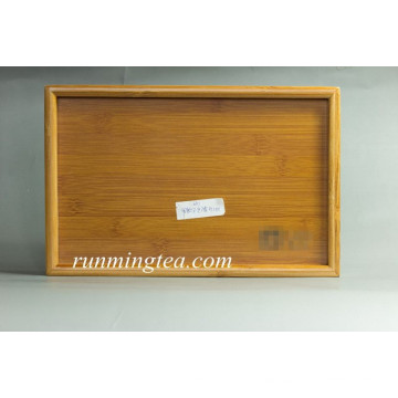 bamboo tray with logo