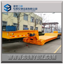 Extendable Low Bed Trailer Gooseneck Detachable Low Bed Semi Trailer