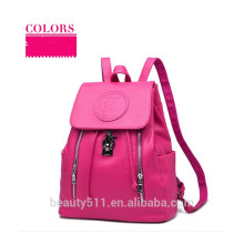 Personalizar las mujeres de moda de mezclilla bolsa de hombro bolso casual Messenger mochila HB47