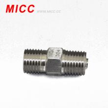 MICC termopar accesorio de doble rosca 1 / 2BSP 1 / 2BSP todos los tamaños