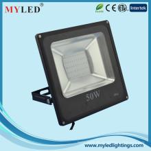 50w hohe Leistung führte Flutlicht innovativ entworfenes dünnes geführtes Flutlicht im Freien ip65 230v geführtes Flutlicht ce / rohs genehmigt