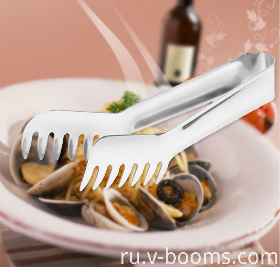 Stainless Steel Pasta Tong Food Tong