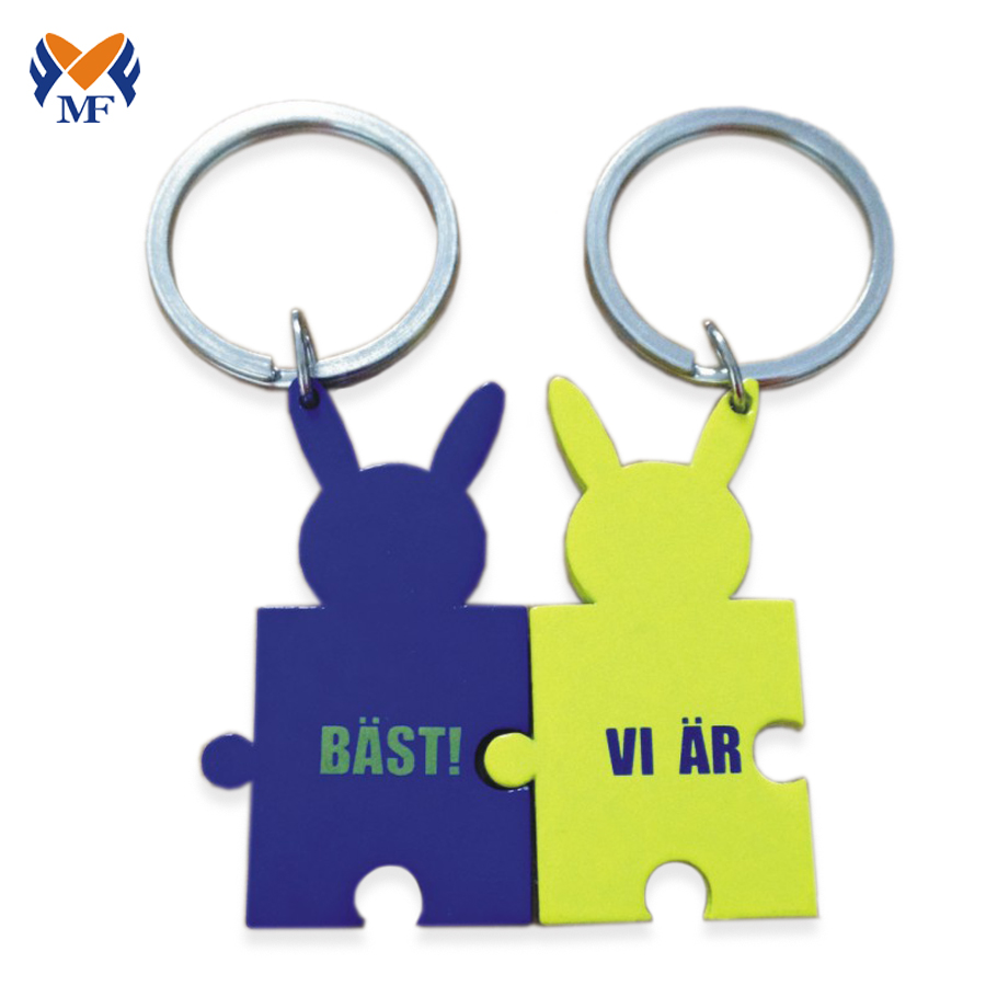 Chinese Couple Keychain