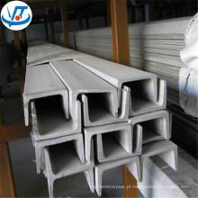 ss400 u canal de aço carbono u tipo preço de fábrica