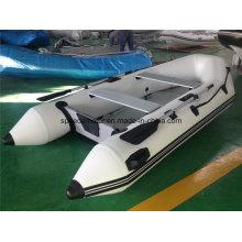 Casco de PVC Material inflável barco a Motor