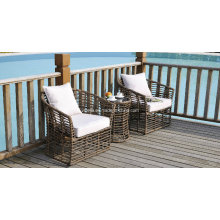 Hotel Patio Outdoor Rattan Garden Set