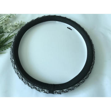 Universal Flax mesh steering wheel cover