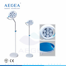AG-LT016B Imported LED bulbs stream lined design surgical stand movable medical theatre lights