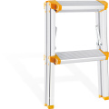 aluminium home ladder with handrail