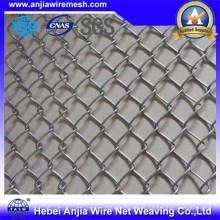 Galvanzied Iron Wire Mesh Kette Link Zaun