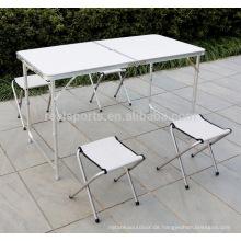 Faltbare justierbare einfache Tabelle der im Freien 2018 Klapptisch-Möbel