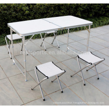 2018 Folding Adjustable Easy Table Outdoor Folding Table Furniture