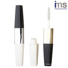 8ml*2 Duo Plastic Mascara Container for Cosmetic