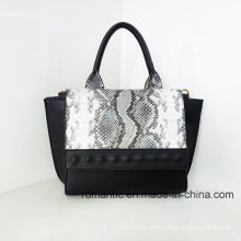 Brand Style Lady PU Hand Bag Croco Leather Handbags (LY060274)