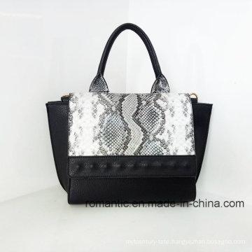 Brand Style Lady PU Hand Bag Croco Leather Handbags (LY060274)
